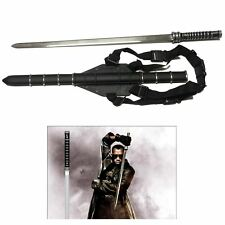 "Trinity Movie 35"" Stainless Steel Daywalker Sword Blade With Sheath"