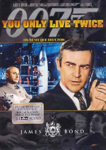 You Only Live Twice DVD New