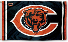 Chicago Bears Flag 3X5 Chicago Football New Fast Usa Shipping Da Bears C