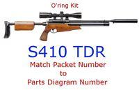 Air Arms O'ring Kit S410 TDR