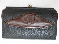 -AUTHENTIQUE portefeuille - porte-monnaie DOONEY & BOURKE  cuir  (T)BEG vintage