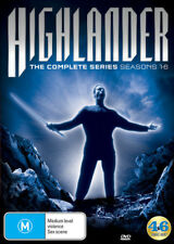 Highlander - Complete Series Collection [Season 1+2+3+4+5+6] DVD