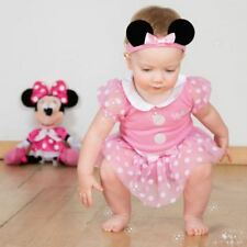 Disney Baby Minnie Mouse Bodysuit Vest 0-3mths Toddler Babies Costume Outfit