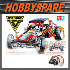 NEW TAMIYA WILD ONE 1/10 CLASSIC OFFROAD RC 2WD BUGGY KIT 58525 with TBLE02 ESC
