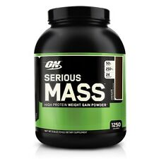 ON Optimum Nutrition Serious Mass 6 lbs Chocolate flavor