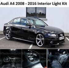 2018 PREMIUM AUDI A4 S4 B8 2008 - 2016 LED INTERIOR UPGRADE KIT SET XENON WHITE