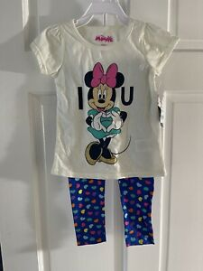 NWT Disney Minnie Mouse Outfit Size 3T