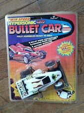 Vintage Race Car Bullet Car Hypersonic 4WD - Moc 1989 Imperial Toys