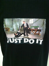 JUST DO IT T-SHIRT NEW Serial Killer MERCHANDISE SIZE SMALL Rare