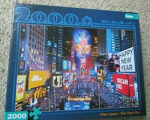 Buffalo Games Times Square New Year's Eve Jigsaw Puzzle 2000pc