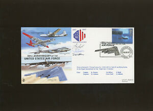 1997 50th Anniversary United States Air Force multi signed cover