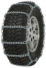 255/70-19.5 255/70R19.5 Tire Chains 5.5mm Link Non-Cam Snow Traction Light Truck