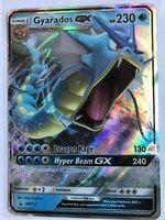 Gyarados GX ULTRA RARE SM212 Hidden Fates Tin Promo Card Pokemon TCG NM Holo
