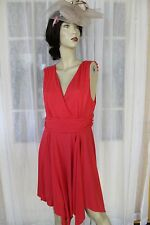 BNWT CROSSROADS CORAL ORANGE DRESS SIZE L RRP$39.95 💕 FREE POST ON ANY 5 ITEMS