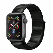 Apple Watch Series 4 40 mm Space Gray Aluminum Case with Black Sport Loop (GPS) - (MU672LL/A)