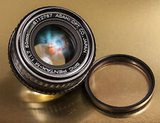 PENTAX-M SMC 50mm f/1.7 Prime Manual Focus Lens, K-Mount