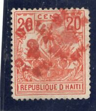Haiti Scott # 45b - unused -  double surcharge