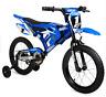 12and16Moto Yamaha Bike Steel Frame Single Speed BMX Front Brakes Kids Bicycle