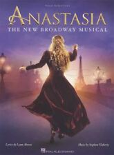 Anastasia Broadway Musical Vocal Selections piano voix Musique Livre soundtrack