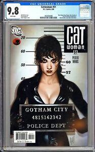 Catwoman #51 CGC 9.8 WP 2006 3923924006 Adam Hughes Cover