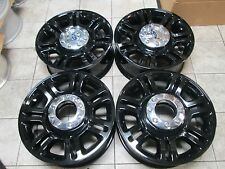 "20"" FORD F250 F350  FACTORY OEM  FACTORY WHEELS RIMS BLACK KING RANCH"