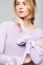 NWT Anthropologie Fluted-Sleeve Pullover by One Grey Day sz L