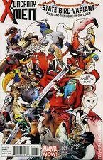 Uncanny X-Men #1 Marvel Comics 2013 Deadpool Immonen State Bird Variant Cover