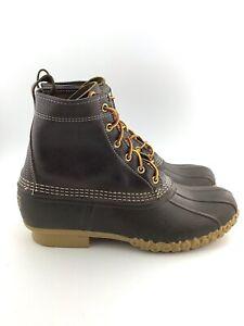 "LL Bean Mens Bean Boots 8"" Primaloft"