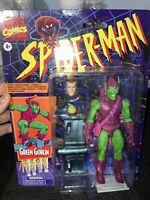 2020 MARVEL COMICS SPIDERMAN LEGENDS RETRO 6 INCH GREEN GOBLIN ACTION FIGURE NEW