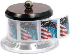 Stamp Holder Dispenser Postage Stamps Roll Storage Desk Display Collector NEW