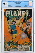 Planet Comics #46 - CGC 9.0  - Bondage cover