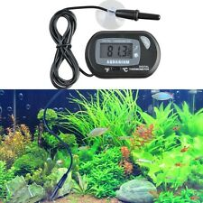 Mini Aquarium LCD Digital Submersible Thermometer Fish Tank Marine Waterproof