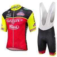 TRIESTINA WILIER ITALIA Cycling Jersey Bib Set Kit Shorts Shirt Ropa Ciclismo MT