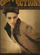 60's Collections Magazine Fall/Winter 1965-66 - '65 Pret a Porter Collections