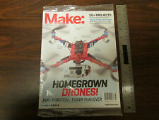 Make Magazine February/March 2014 Homegrown Drones! New Sealed