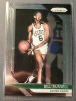 2018-19 Panini Prizm Basketball #25 Bill Russell Boston Celtics Mint Condition