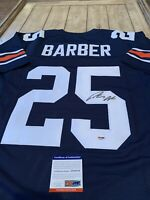 Peyton Barber Autographed/Signed Jersey PSA/DNA COA Auburn Tigers