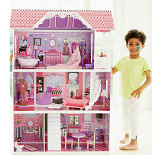 ELC Manor Dolls Doll House Luxury Wooden Toy Kids Childrens Girls Pink Playset