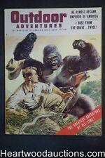 Outdoor Adventure Jan 1956 Jayne Mansfield, Arthur Clarke, Beecham Ape attack Cv