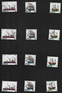 1972 Singapore Ships and Shipping SG185-SG187 Fine Used Sets