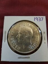 1937 Canadian Silver Dollar High Grade