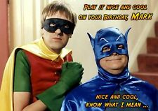 Only Fools and Horses Batman PERSONALISED Happy Birthday Spoof Greeting Card