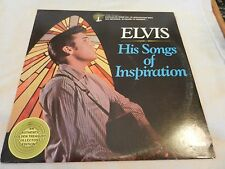 Elvis His Songs of Inspiration LP RCA Records DML1-0264 from 1977