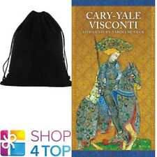 CARY-YALE VISCONTI 15TH TAROCCHI DECK GUIDEBOOK ESOTERIC ASTROLOGY VELVET BAG