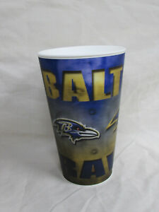 Baltimore Ravens 16oz Plastic Flix Cup with Ravens Logo