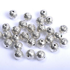 20pcs Tibetan Silver, Gold, Bronze, Charms FLOWER Spacer BEADS 7.5MM BE567