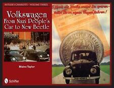 Book - Hitler's Chariots Volume Three: Volkswagen – Nazi People's Car to Beetle