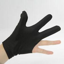 1pc Billiards Gloves Snooker Glove Pool Yo-Yo Ball Elastic Three Finger Gloves