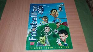 FIFA WC 2006 FOOTBALL FAN LUXOR COMPLETE ALBUM