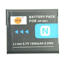 DSTE 1500 mAh NP-BN1 Battery for Sony DSC-W520 W510 W320 W310 WX100